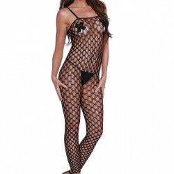 Dreamgirl Convertible Bodystocking Crop Top